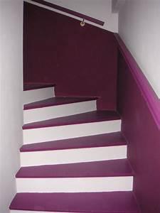 idee deco escalier interieur meilleures images d With couleur bois de rose peinture 10 cage descalier 20 idees deco pour un bel escalier