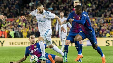 FC Barcelona - Real Madrid | Horario, dónde verlo y ...