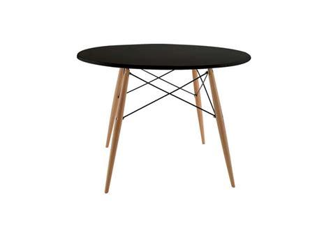 console bureau extensible table ronde scandinave achatdesign