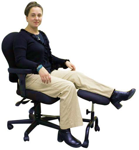 leg rest for desk ergoup single leg and foot rest by ergodynamics