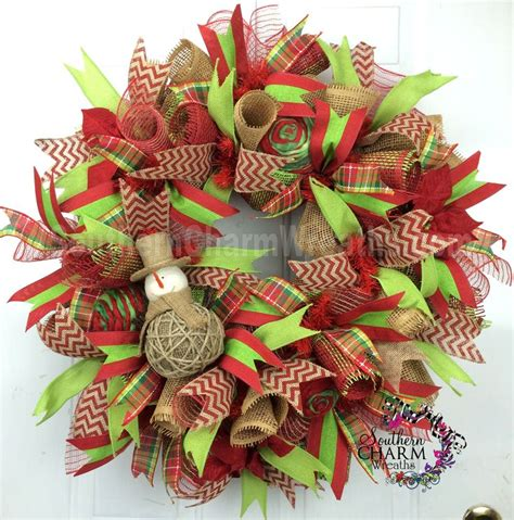 Superior Pinterest Christmas Wreaths For Front Door Best