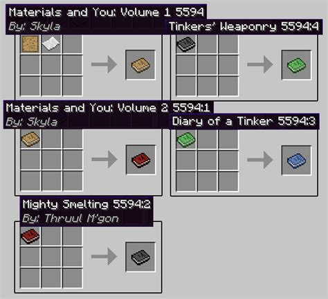 tinkers construct mod  weapon tool