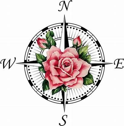 Compass Rose Tattoo Clipart Symbol Clip Transprent