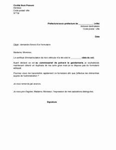 Vol De Carte Grise : modele lettre gratuite pour envoi document lettre pour une demande psco ~ Medecine-chirurgie-esthetiques.com Avis de Voitures