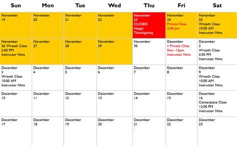wreath calendar olympias barn nursery thurston county