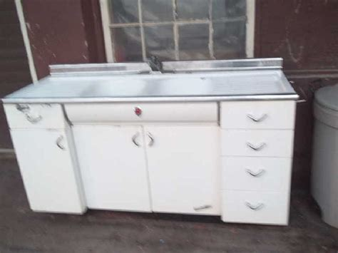 nice retro metal kitchen cabinets on 1950s youngstown