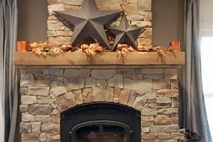 Encadrement Insert Cheminée : decoration cheminee bois ~ Carolinahurricanesstore.com Idées de Décoration