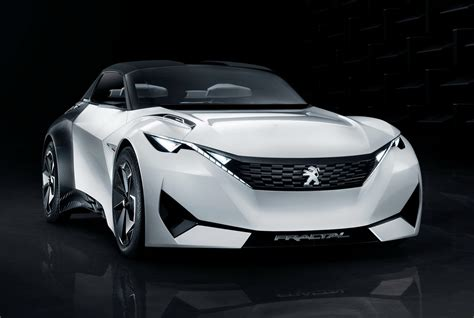 peugeot concept car peugeot 39 s new fractal coupe hatch convertible concept in