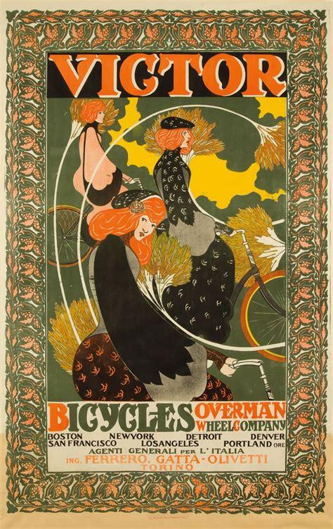 velo cycle publicite affiche poster ancien  la boite verte