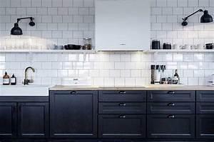 Cuisine Blanc Et Noir : comment int grer la couleur noire dans votre d co int rieure ~ Voncanada.com Idées de Décoration