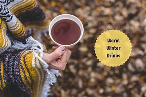 Warm, Winter, Drinks, Delicious, Beverages, With, Medicinal
