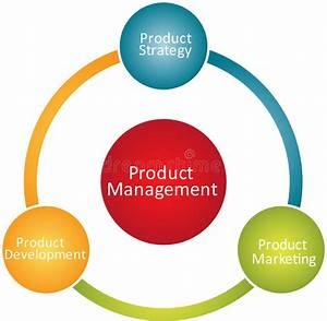 Product Management Business Diagram Stock Illustration