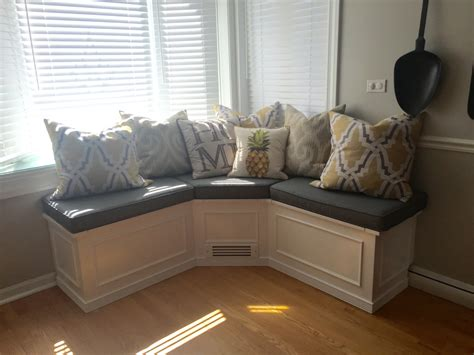 Banquette Corner Bench Seat With Storage Tiling Small Bathroom Ideas Best Color For Divine Design Bathrooms Wall Mount Sink Layout Designs Black And White Towel Sets Free Remodel