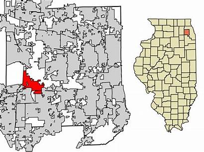 Illinois Warrenville County Dupage Wikipedia Unincorporated Areas