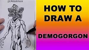 How To Draw A Demogorgon