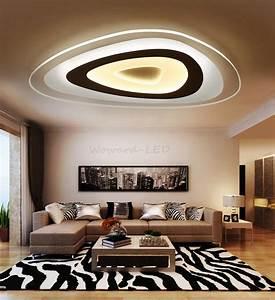 Led Deckenlampe Bad : led deckenlampen decken leuchte 16w bis 115w dimmbar lampe ~ Watch28wear.com Haus und Dekorationen