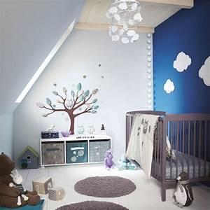 Suspension Chambre Bébé : deco nuage chambre bebe suspension paoier peint picslovin ~ Voncanada.com Idées de Décoration