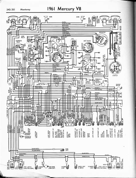 1967 Mercury Wiring Diagram Starter System by Mercury Wiring Diagrams The Car Manual Project
