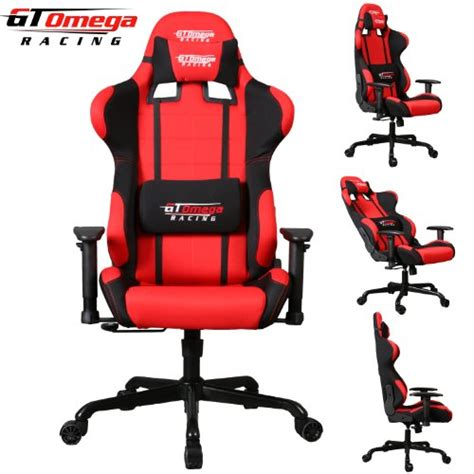 fauteuil bureau amazon gt omega pro racing office chair and black fabric