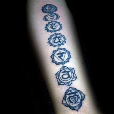 dotwork guys chakras  forearm tattoos tatouage
