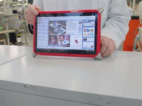 tablette pour recette de cuisine qooq la tablette qui veut réveiller l électronique