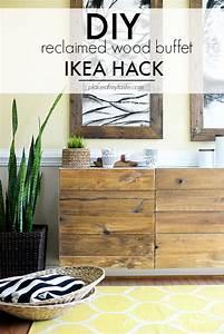 IKEA HACKS - DIY RECLAIMED WOOD BUFFET
