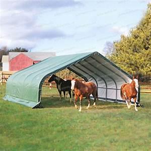 Abri De Toile : abri en toile pour chevaux de larg x long 6 ~ Melissatoandfro.com Idées de Décoration