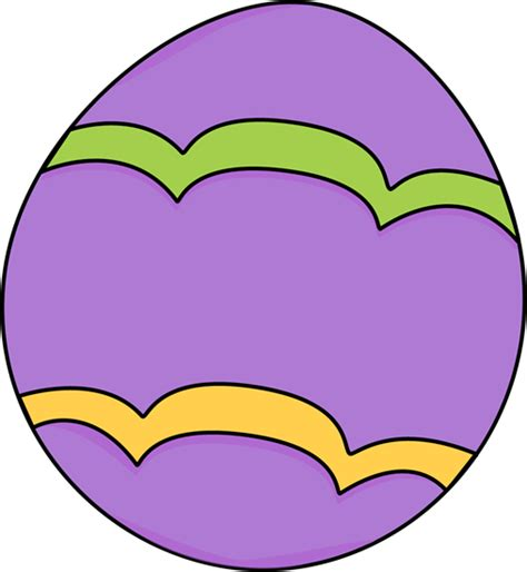 Easter Egg Clipart Purple Decorated Easter Egg Clip Purple Decorated