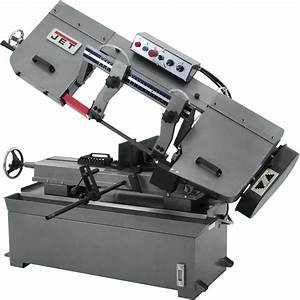 Jet Horizontal Metal Cutting Band Saw  U2014 10in  X 18in   2