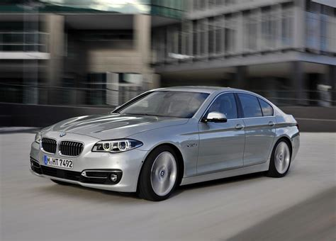 2014 bmw 5 series revealed styling tweaks new trim