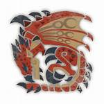 Monster Hunter Iceborne Rathalos Kiranico Icon Mhw
