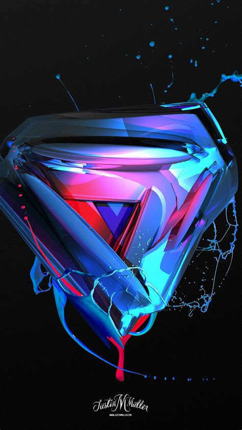 3d Desktop Photo 2 by Wallpaper 3d Triangle Abstract Shapes 4k Abstract 17744