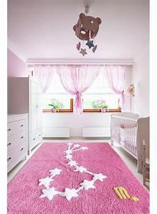 Tapis Pour Chambre Enfant : tapis chambre enfant constellation scorpion rose ~ Melissatoandfro.com Idées de Décoration