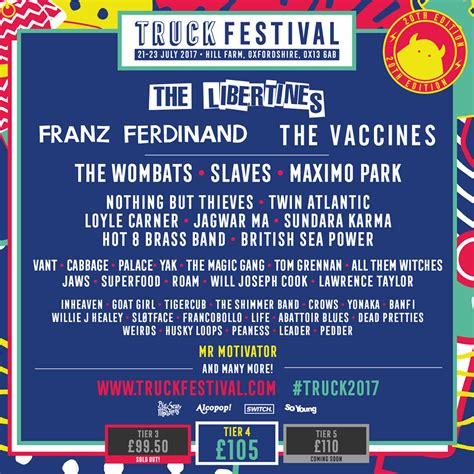 The First Announcement For Truck Festival 2017 Is In And