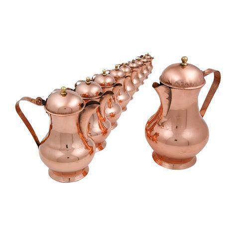 copper coffee percolator artisan  cm