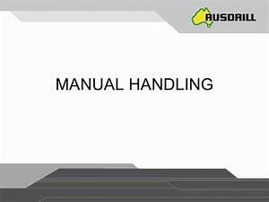 Manual Handling Ppt