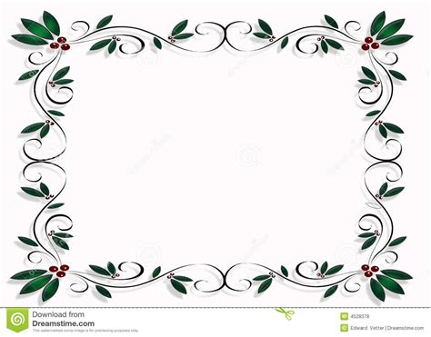 christmas design frame  border royalty  stock