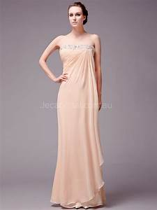 Greek style empire waist chiffon bridesmaid dress b557 for Chiffon wedding dress empire waist
