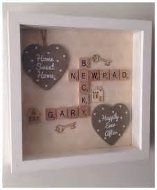 home interiors and gifts framed new home scrabble frame with large quote by buttonnbutterflies