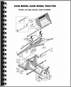 Case 420b Backhoe  U0026 Loader Attachment Parts Manual