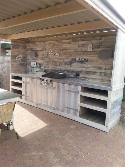 kitchen cabinets made out of pallets must see pallet outdoor kitchen recycled pallets 9165