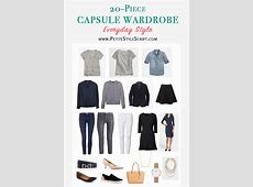 Capsule Wardrobe Starter Kit Shopping Guide Petite Style