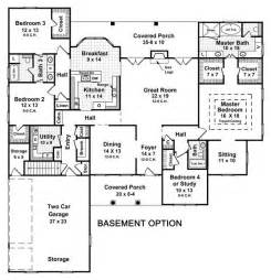 5 bedroom house plans with basement 3 bedroom house plans with basement smalltowndjs