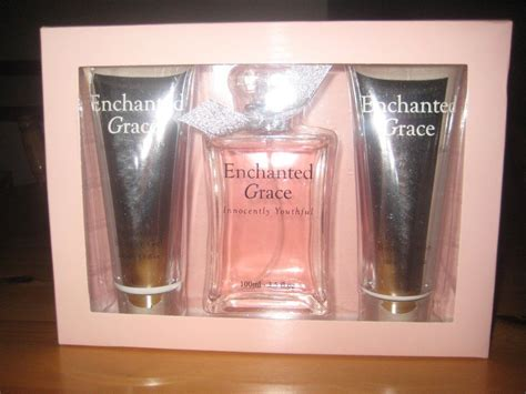 Enchanted Grace Perfume Body Lotion And Shower Gel In