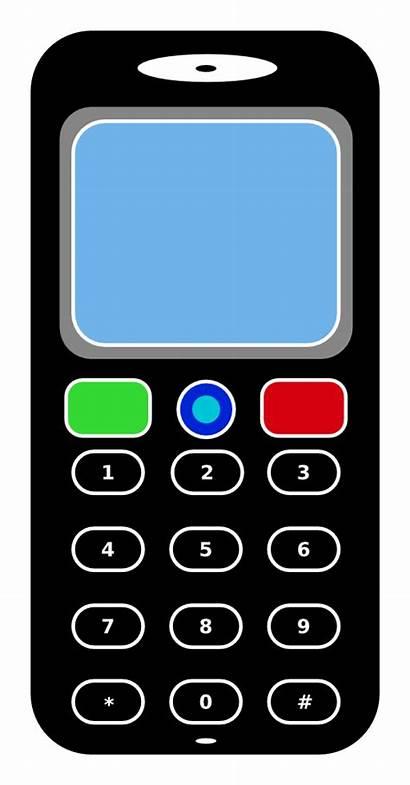 Clipart Phone Mobile Clip Telefon Handy Telephone