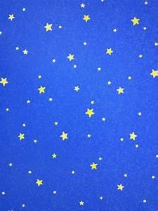 Blue wallpaper with yellow stars (ebay) | stars ...