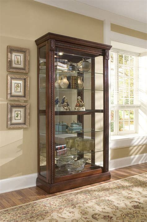 cabinets and more pulaski tn medallion cherry curio cabinet by pulaski furniture