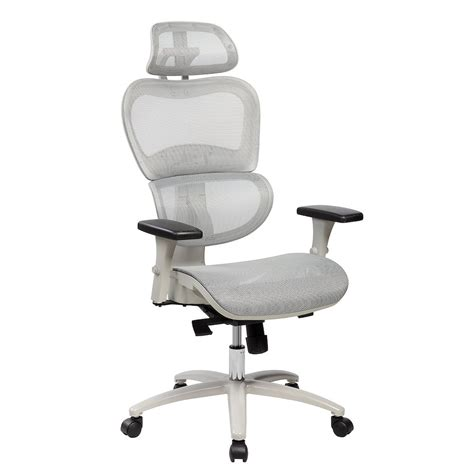 Office Chairs Neck Support by Techni Mobili High Back Mesh Executive Office Chair With