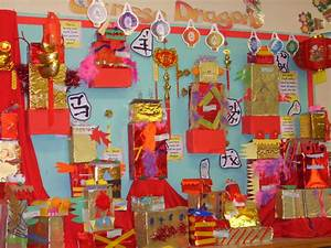 Chinese dragons classroom display photo - Photo gallery