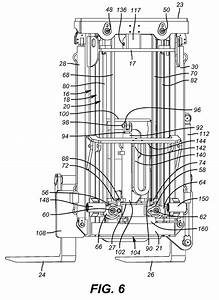 Patent Us8777545 - Free Lift Mast For Truck Mounted Forklift